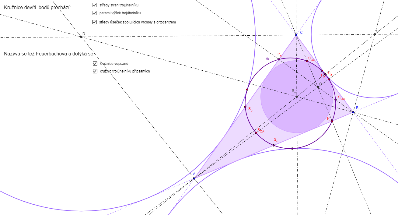 Feuerbachova kružnice